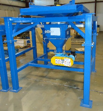 Bulk Bag Station with Rotary Feeder