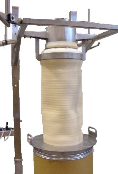 bulk bag filling stations fill drum