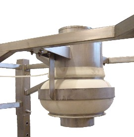 Bulk Bag Filling Head Inflated