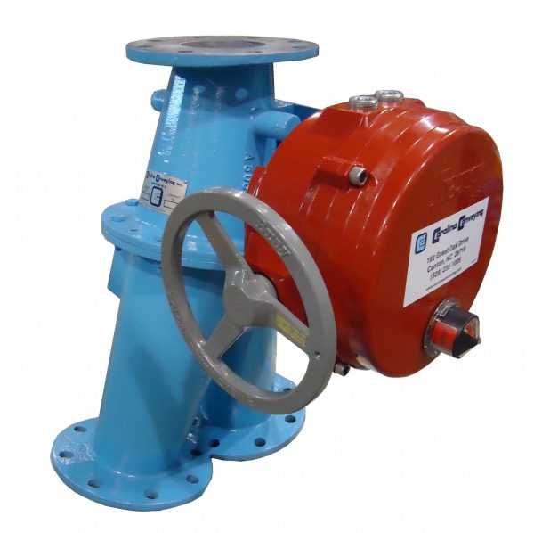 Flanged Diverter Electric Actuator
