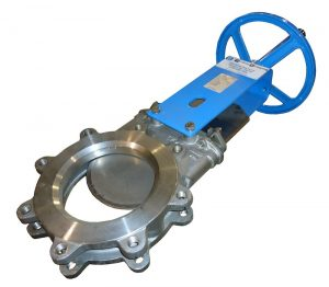 manual handwheel knife gate valve