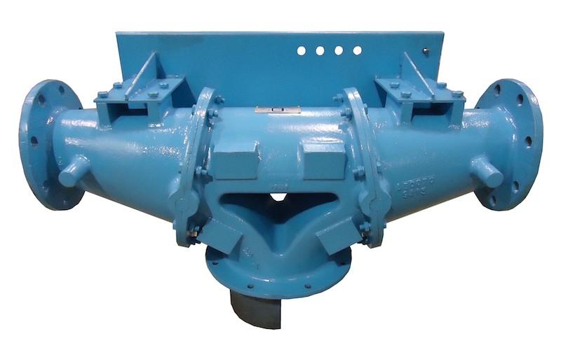 weigh valve flange