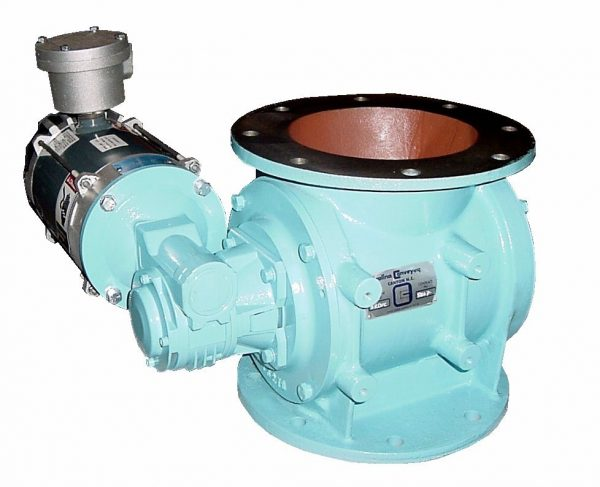 rotary dust valve