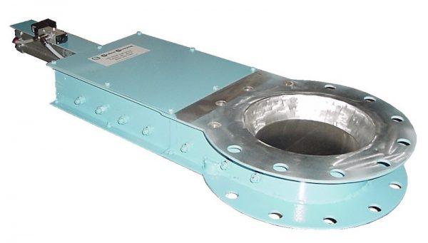 round pneumatic gate valve